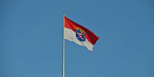 Flagge des Landes Hessen